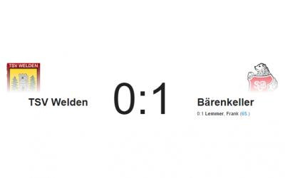 1. – Niederlage im letzten Saisonspiel