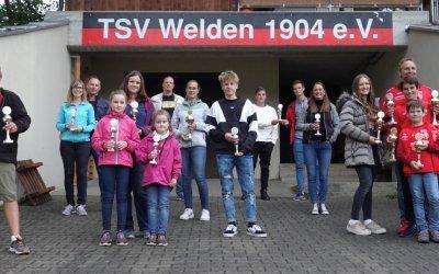 Vereinsmeister TSV Welden 2020